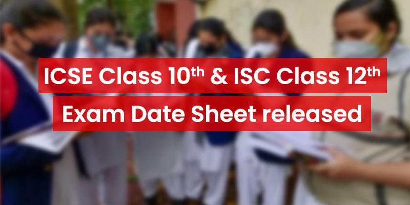 आईसीएसई 10वीं व आईएससी 12वीं  2020 की परीक्षाओ की तारीख घोषित- बोर्ड ने जारी किया कार्यक्रम