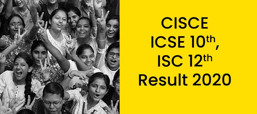 CISCE बोर्ड 2020 रिजल्ट  बोर्ड ने जारी किए 10वीं-12वीं के नतीजे, 10वीं के 99.33% और 12वीं में 96.84% स्टूडेंट्स हुए पास