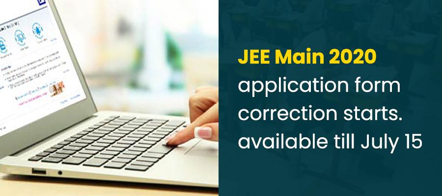 जेईई-मेन-2020 परीक्षा केंद्र बदलने एवं री-करेक्शन का मौका 15 जुलाई तक