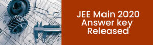 JEE Main 2020: Answer key released