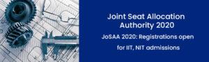 JoSAA 2020